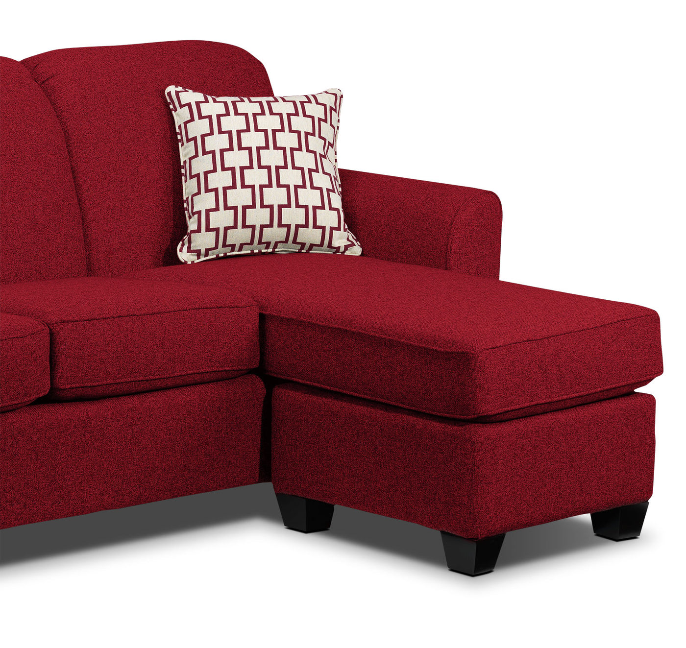Outstanding Ashby Chaise Sofa Red Andrewgaddart Wooden Chair Designs For Living Room Andrewgaddartcom