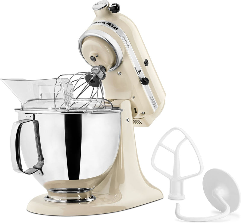 KitchenAid Almond Cream 5-Quart Tilt-Head Stand Mixer - KSM150PSAC