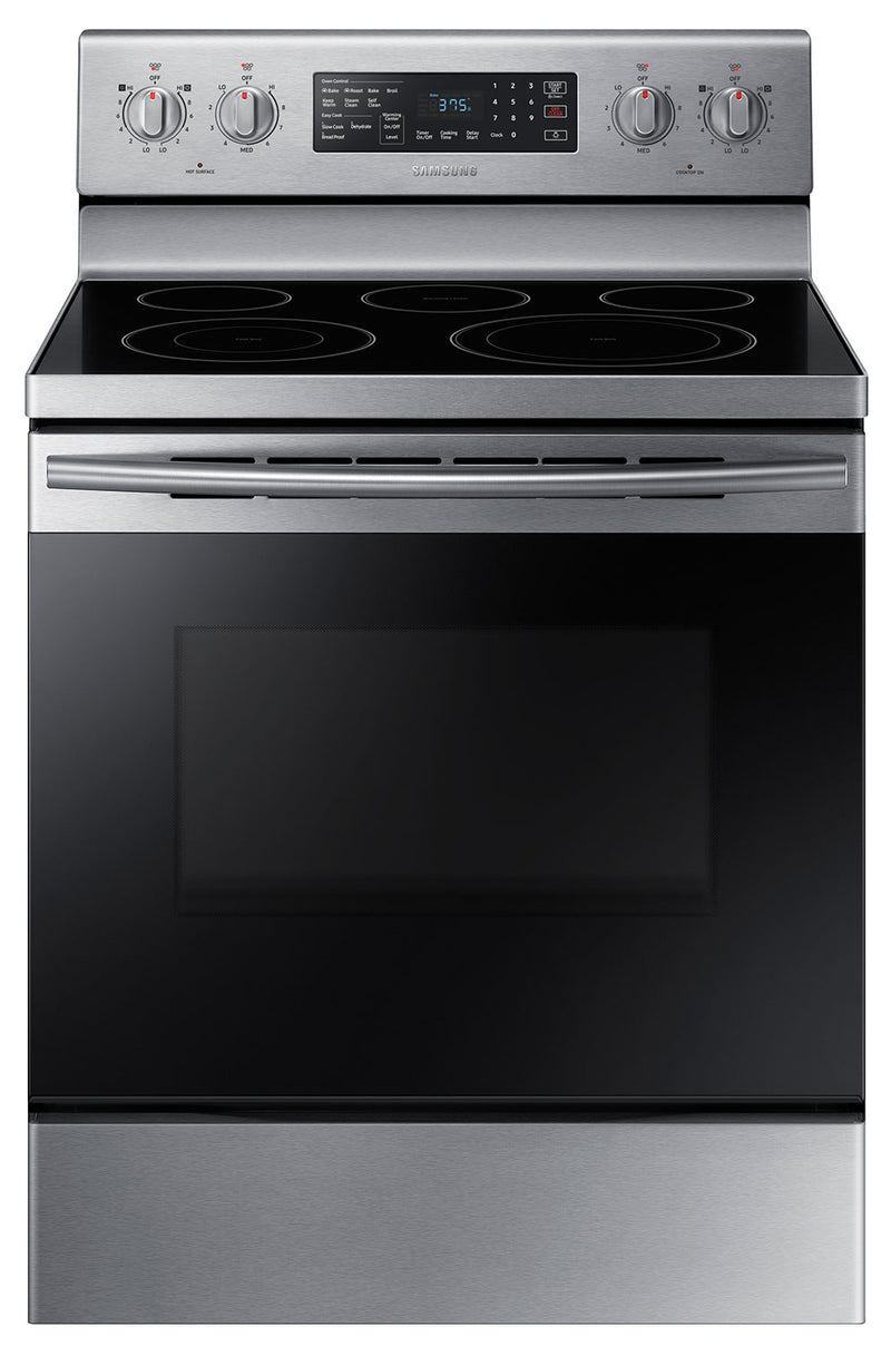 Samsung Stainless Steel Freestanding Electric Convection Range (5.9 Cu. Ft) - NE59M4320SS/AC