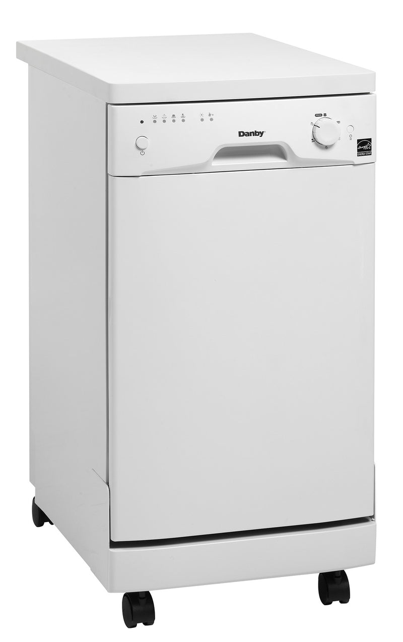 "Danby White Portable 18"" Dishwasher - DDW1801MWP"