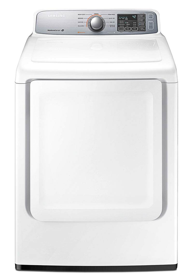 Samsung White Electric Dryer (7.4 Cu.Ft) - DV45H7000EW