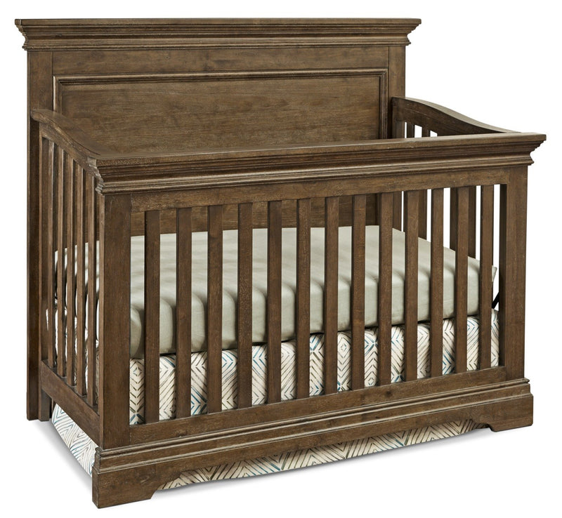 Riley Convertible Crib - Almond
