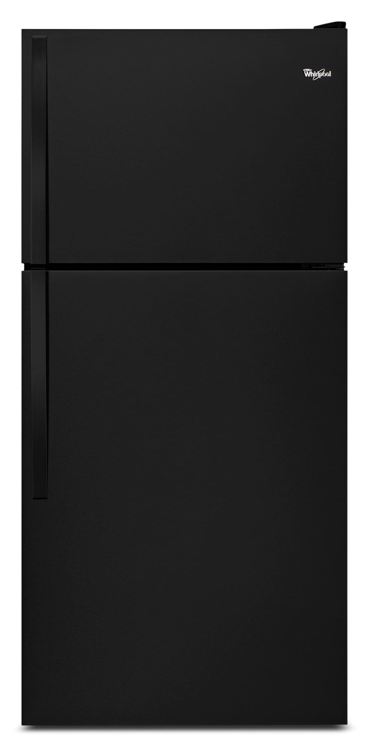 Whirlpool Black Top-Freezer Refrigerator (18.2 Cu. Ft.) - WRT318FZDB