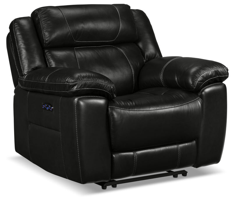 Solenn Power Recliner - Black