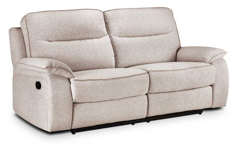 Latham Reclining Sofa - Bisque