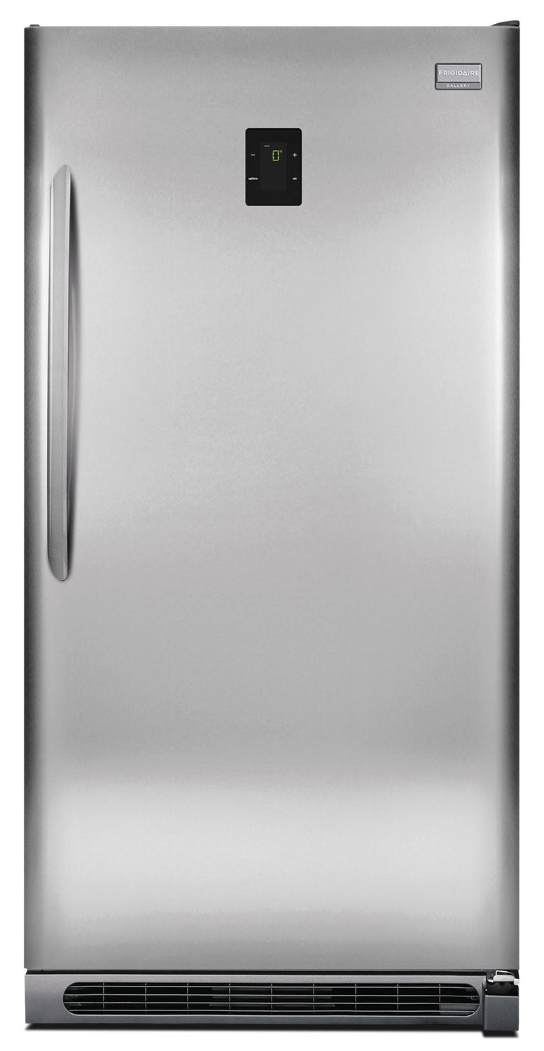 Frigidaire Gallery Stainless Steel 2-in-1 Upright Freezer (20.5 Cu. Ft.) - FGVU21F8QF