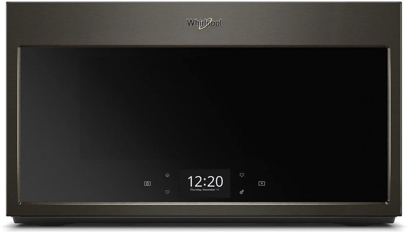Whirlpool Black Stainless Steel Over-the-Range Convection Microwave (1.9 Cu. Ft.) - YWMHA9019HV