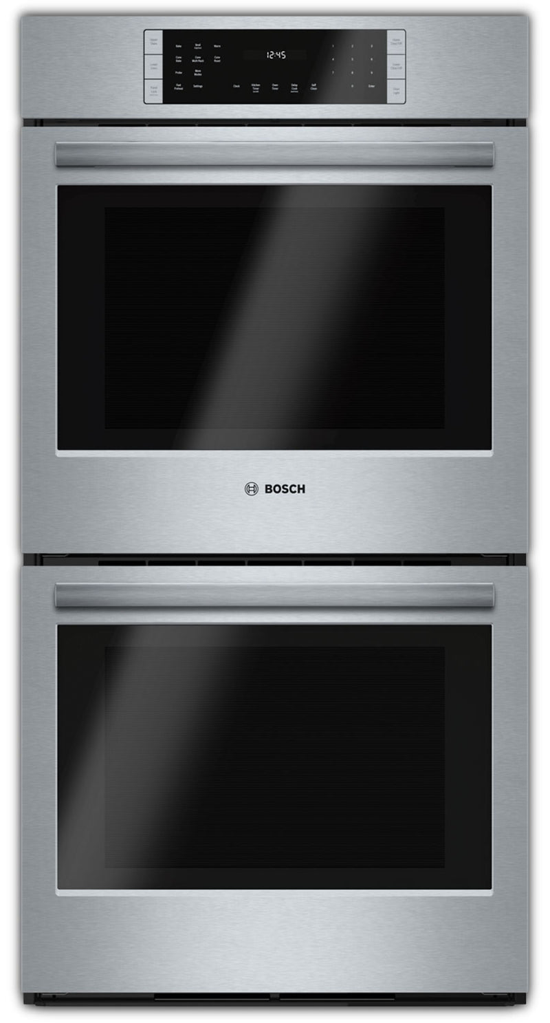 Bosch Stainless Steel Double Wall Oven (7.8 Cu. Ft.) - HBN8651UC