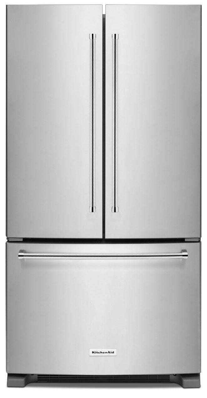 KitchenAid Stainless Steel French Door Refrigerator (20 Cu. Ft.) - KRFC300ESS