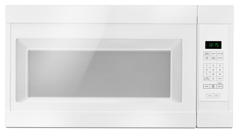 Amana White Over-the-Range Microwave (1.6 Cu. Ft.) - YAMV2307PFW