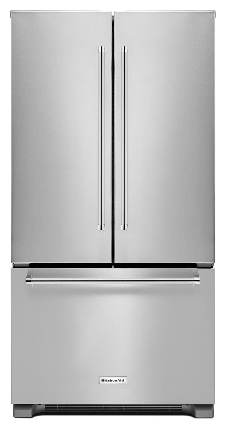 Kitchenaid Stainless Steel French Door Refrigerator 21 Cu Ft