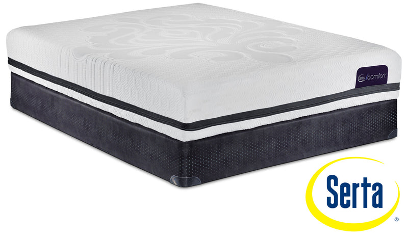 Serta iComfort Eco Contingence Firm Twin XL Mattress and Boxspring Set