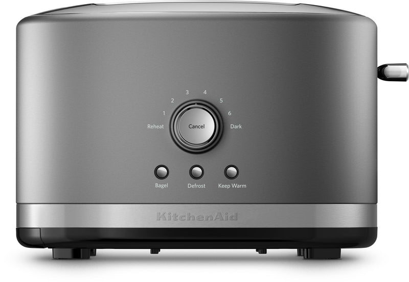 KitchenAid Contour Silver 2-Slice Toaster with High-Lift Lever - KMT2116CU