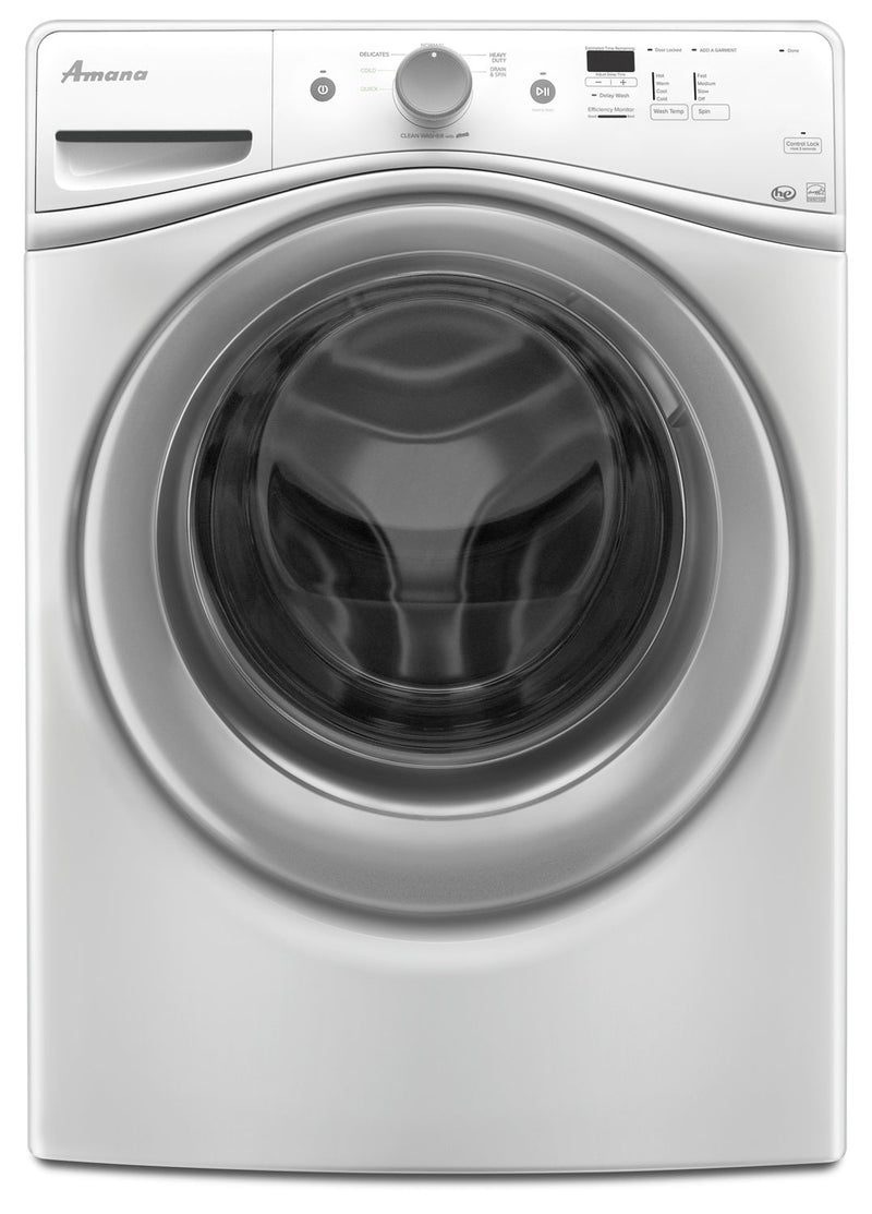 Amana White Front-Load Washer (4.8 Cu. Ft.) - NFW5800DW