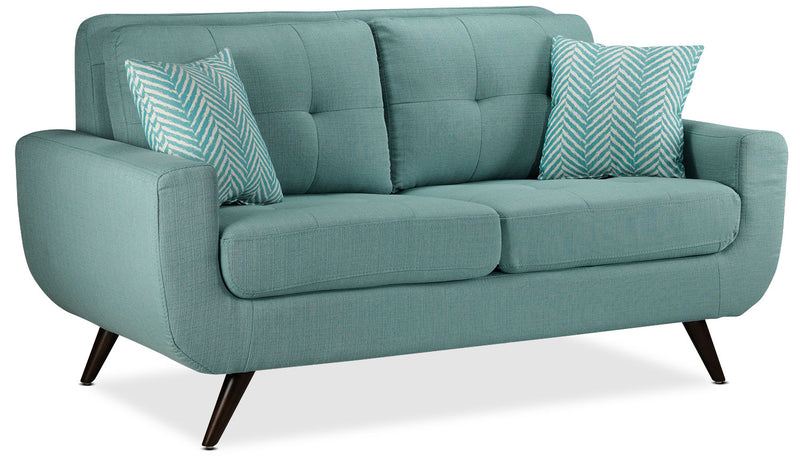 Julian Loveseat - Teal