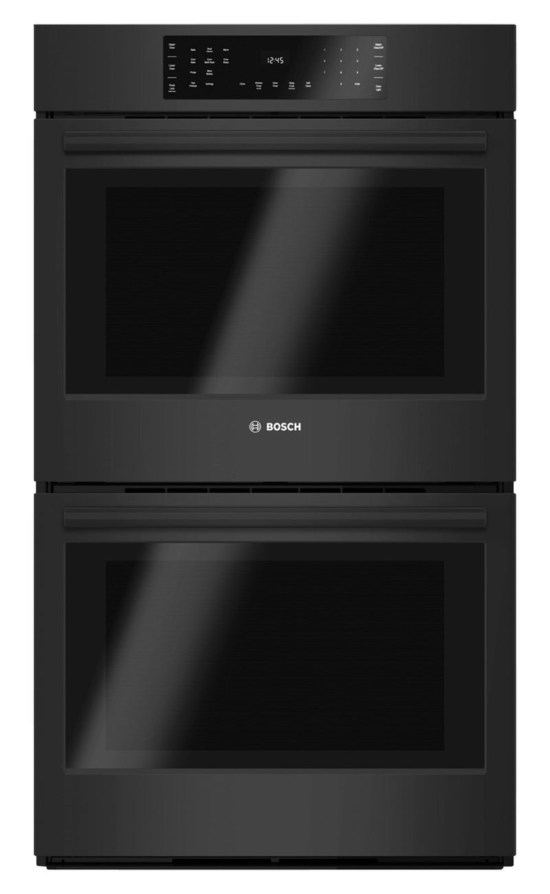 Bosch Black Double Wall Oven (9.2 Cu. Ft.) - HBL8661UC