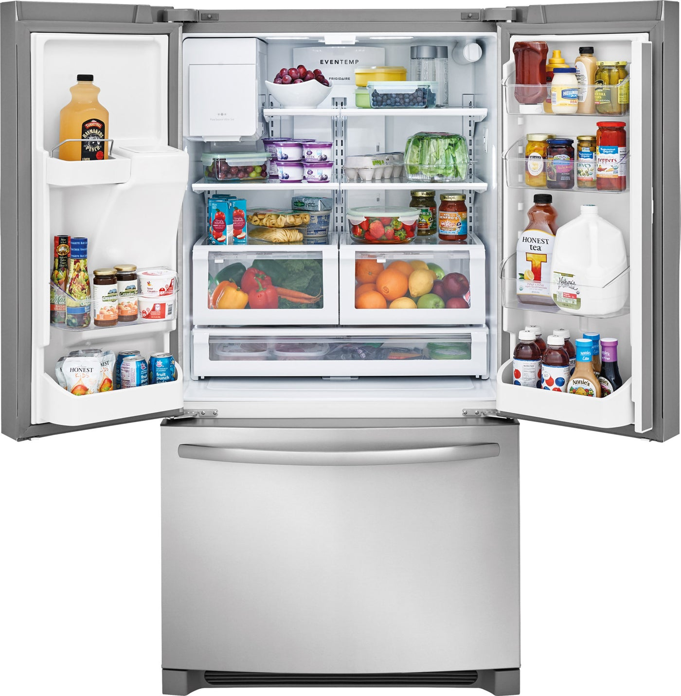 Frigidaire Stainless Steel French Door Refrigerator 268 Cu Ft