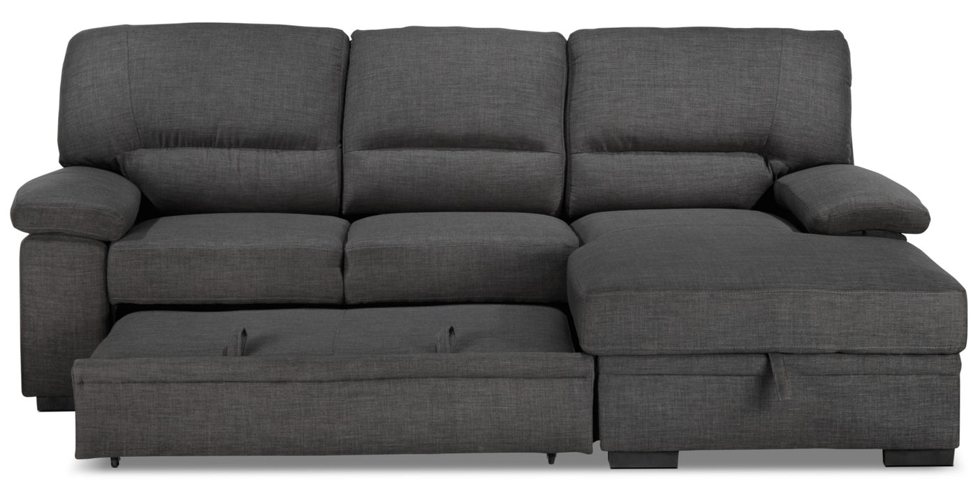 super popular 615e6 17336 Tessaro Pop-Up Sofabed - Charcoal