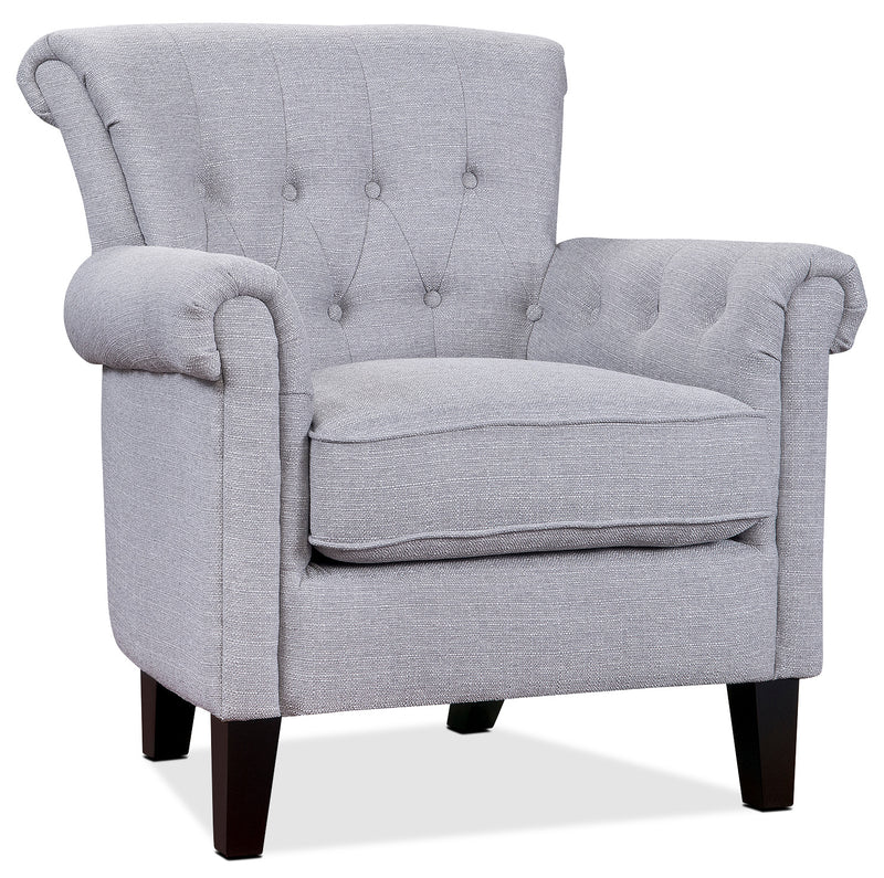 Molly Accent Chair - Light Grey