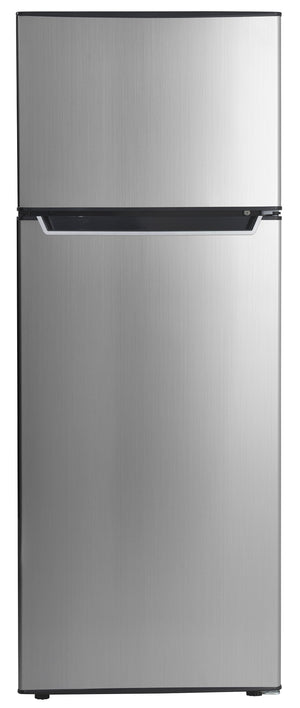 Danby Stainless Steel Top-Freezer Refrigerator (7.3 Cu. Ft.) - DPF073C2BSLDB