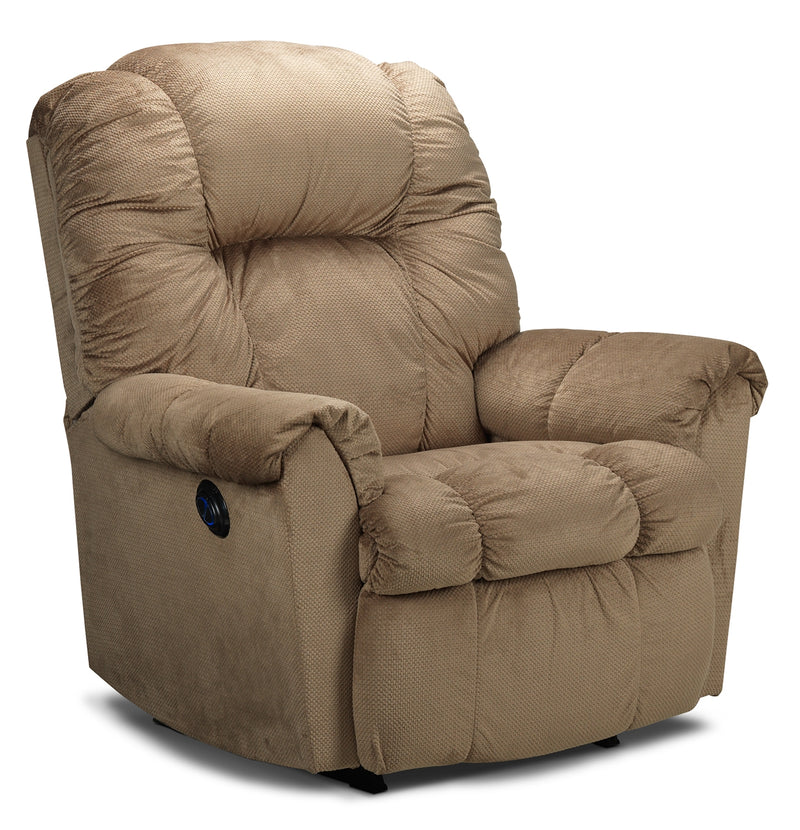 Ghida Power Rocker Recliner - Tan