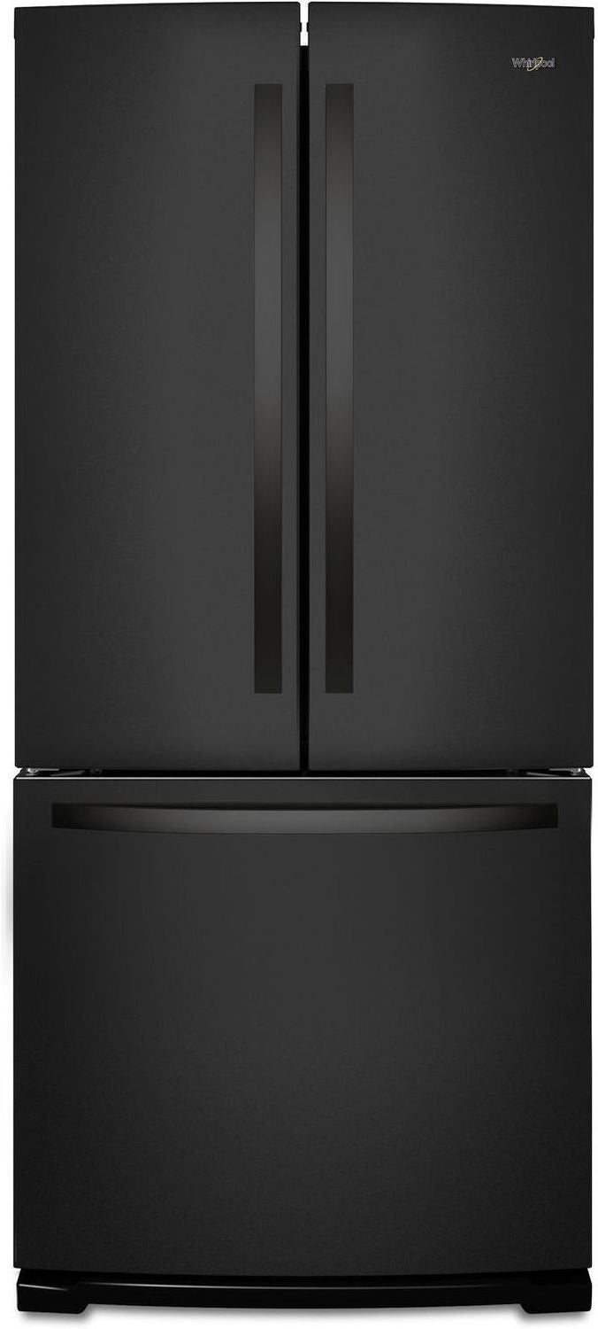 Whirlpool Black French Door Refrigerator (20 Cu. Ft.) - WRF560SMHB