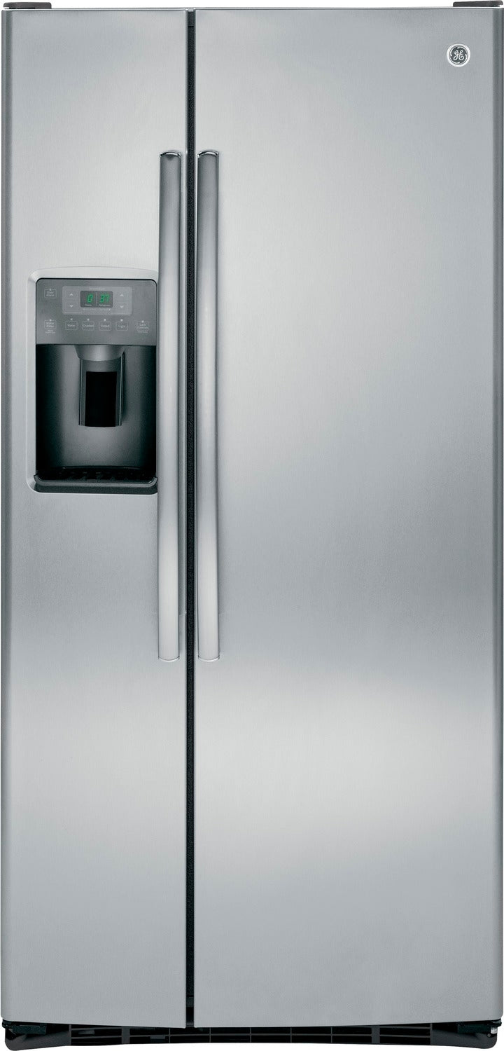 GE Stainless Steel Side-by-Side Refrigerator (22.5 Cu. Ft.) - GSS23HSHSS