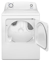 Amana White Gas Dryer (6.5 Cu. Ft.) - NGD4655EW
