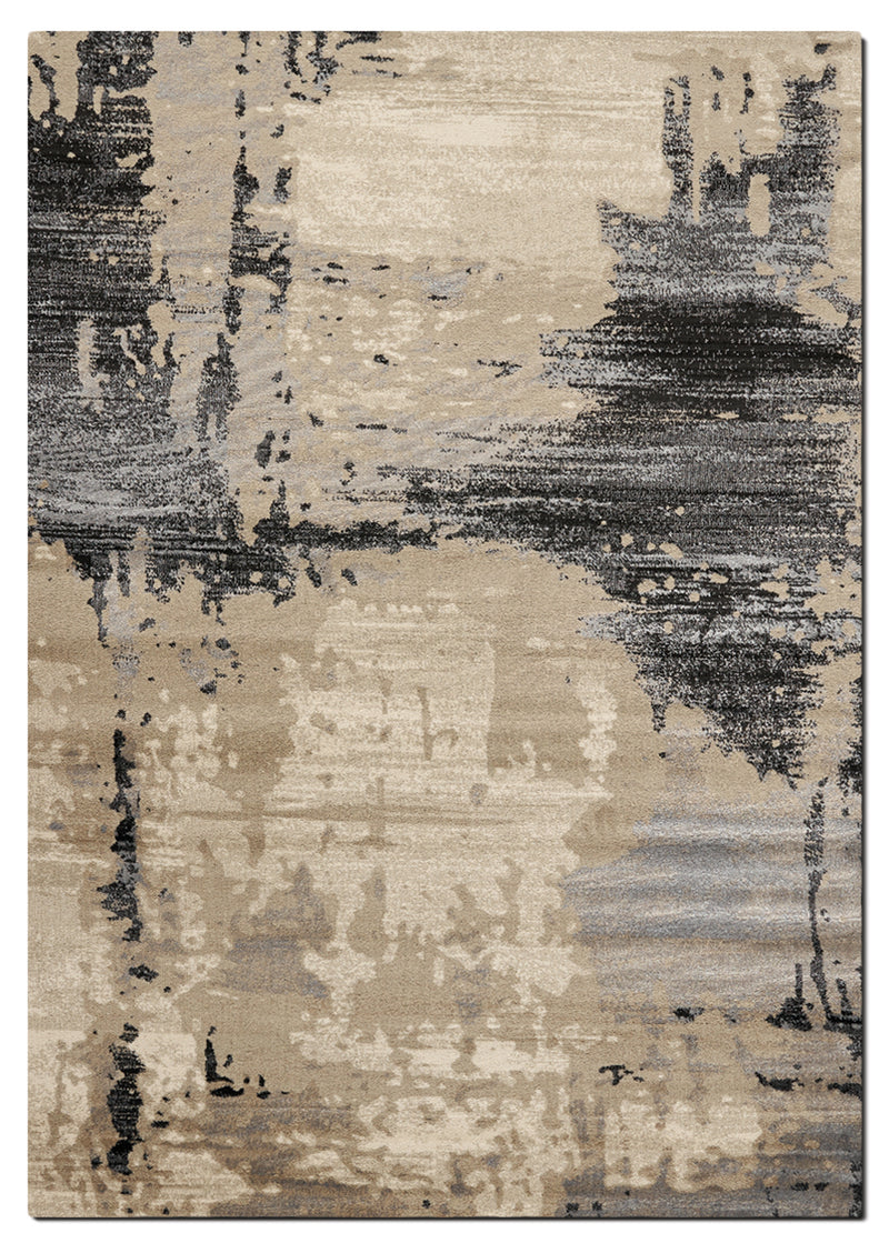 Platinum 5' x 8' Area Rug - Cream