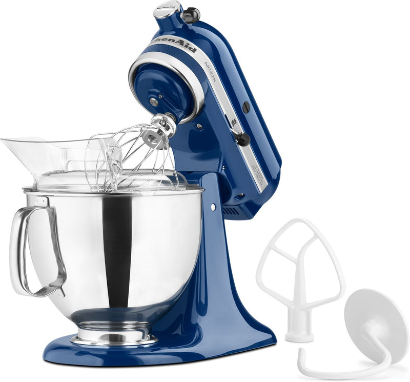 KitchenAid Blue Willow 5-Quart Tilt-Head Stand Mixer - KSM150PSBW