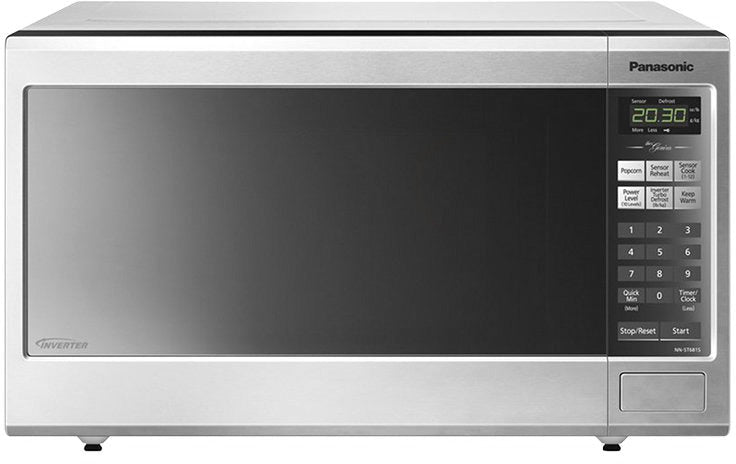 Panasonic Stainless Steel Countertop Microwave (1.2 Cu. Ft.) - NNST681SC