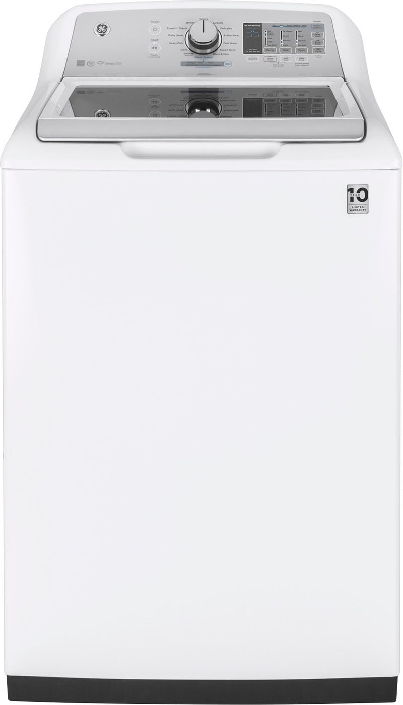GE White Top-Load Washer (5.8 Cu. Ft.) - GTW750CSLWS