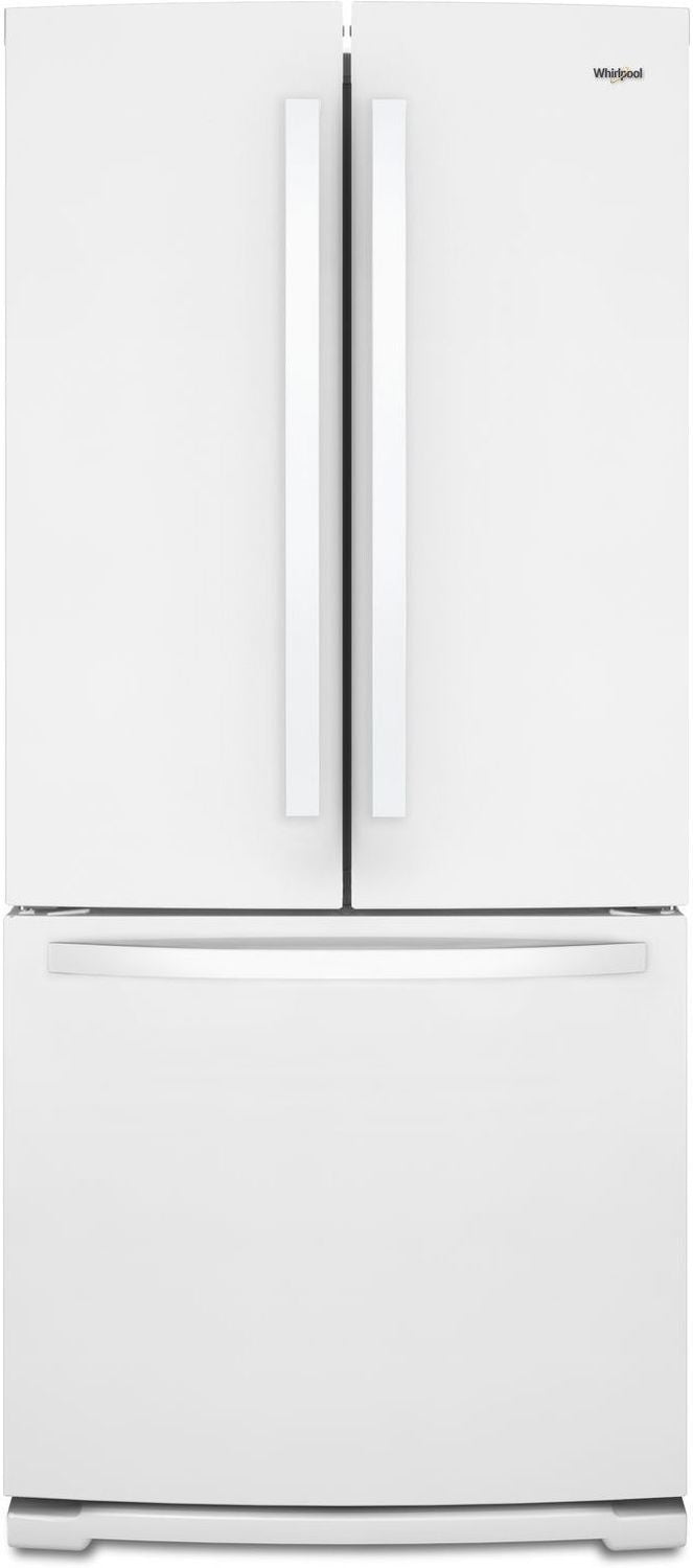 Whirlpool White French Door Refrigerator (20 Cu. Ft.) - WRF560SFHW