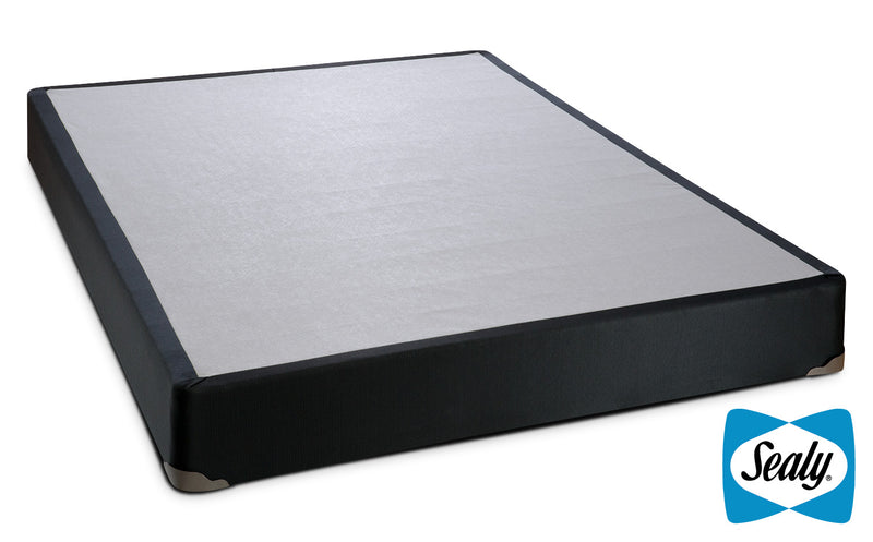 Sealy Charcoal Luxe Queen Boxspring