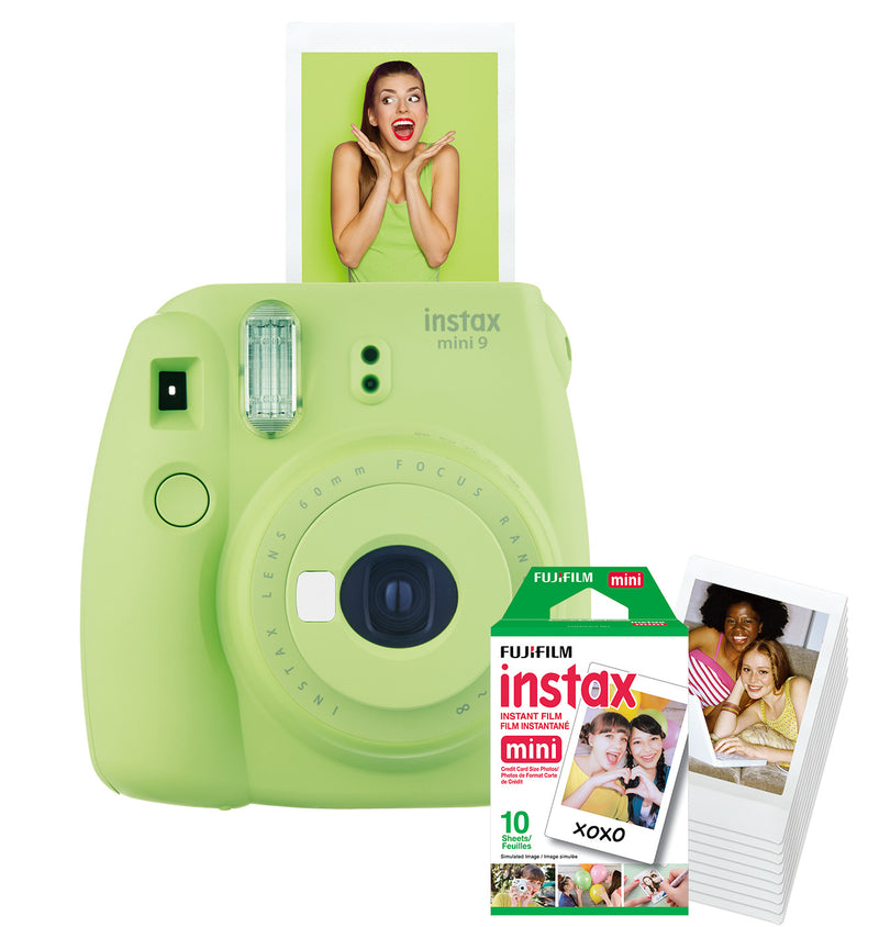 FujiFilm Instant Camera - Lime Green