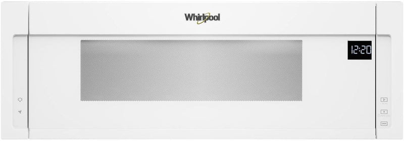 Whirlpool White Over-the-Range Microwave and Hood Combination (1.1 Cu. Ft.) - YWML55011HW