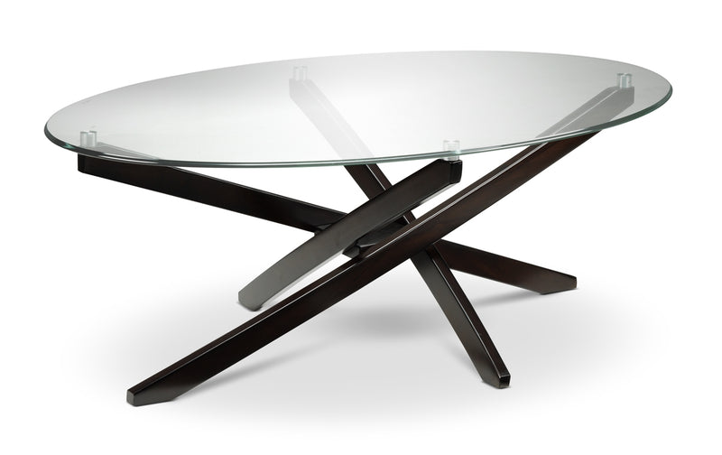 Xenia Coffee Table - Espresso