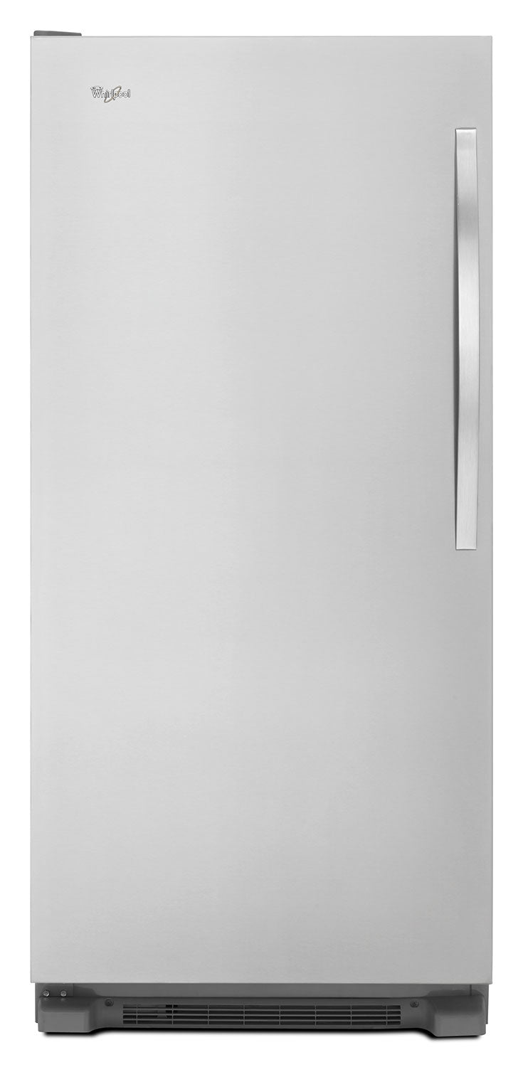 Whirlpool Stainless Steel Upright Freezer (17.7 Cu. Ft.) - WSZ57L18DM