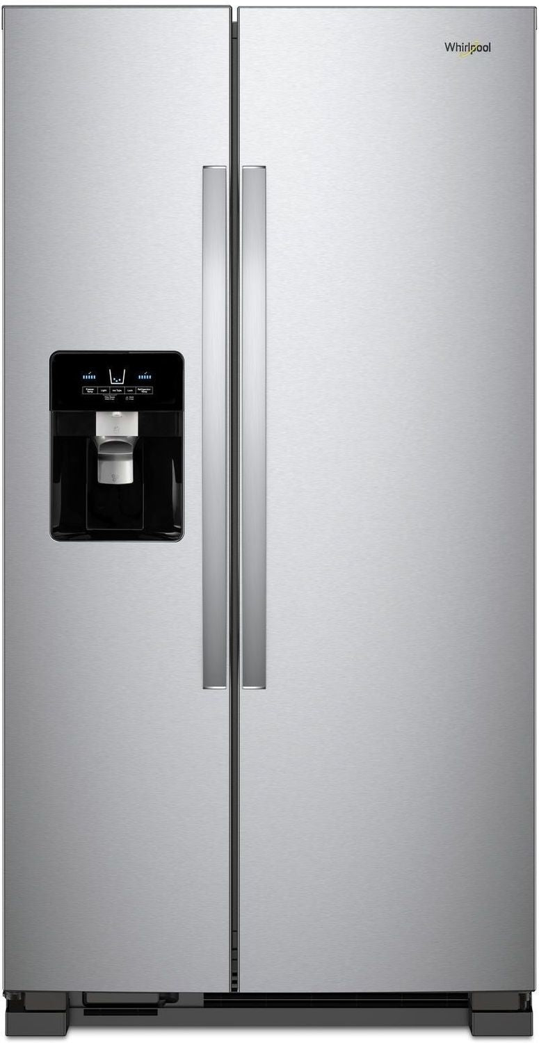 Whirlpool Stainless Steel Side-by-Side Refrigerator (25 Cu. Ft.) - WRS555SIHZ