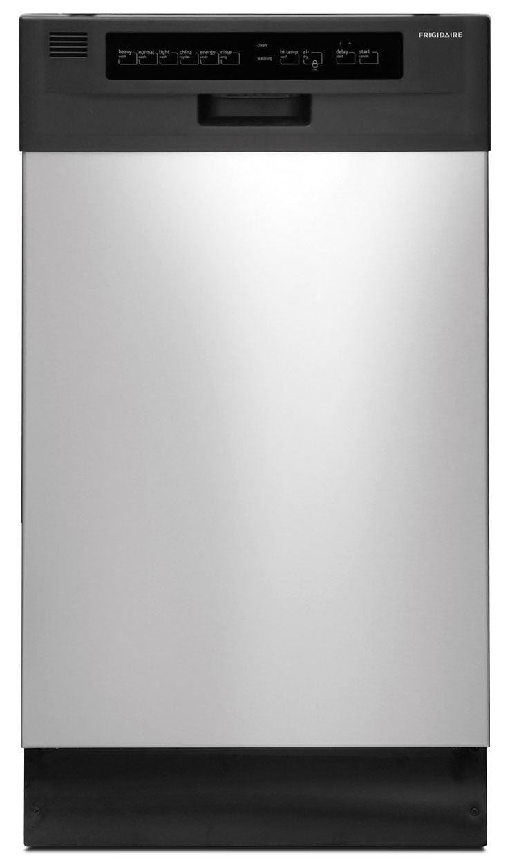 "Frigidaire Stainless Steel 18"" Dishwasher - FFBD1821MS"