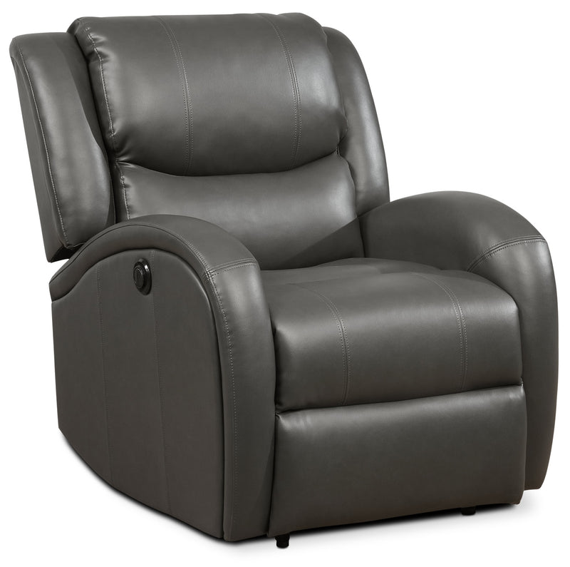 Carter Power Recliner - Dark Grey