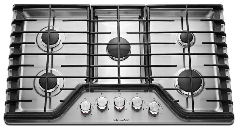 KitchenAid Gas Cooktop KCGS350ESS