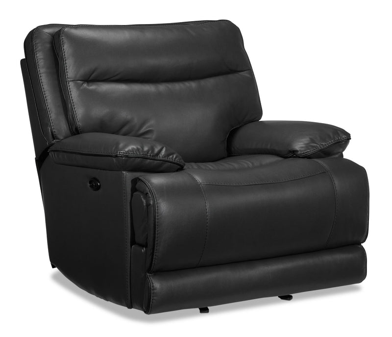 Lanette Power Recliner - Smoke Grey