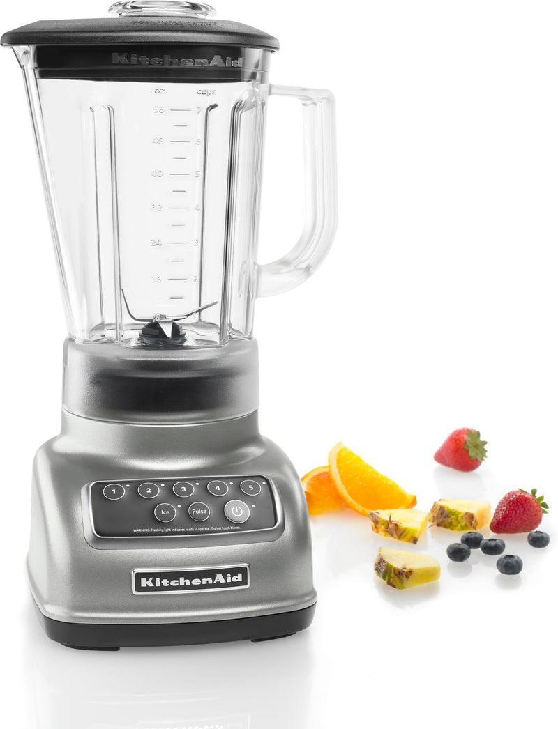 KitchenAid Silver 5-Speed Classic Blender (56 oz.) - KSB1570SL