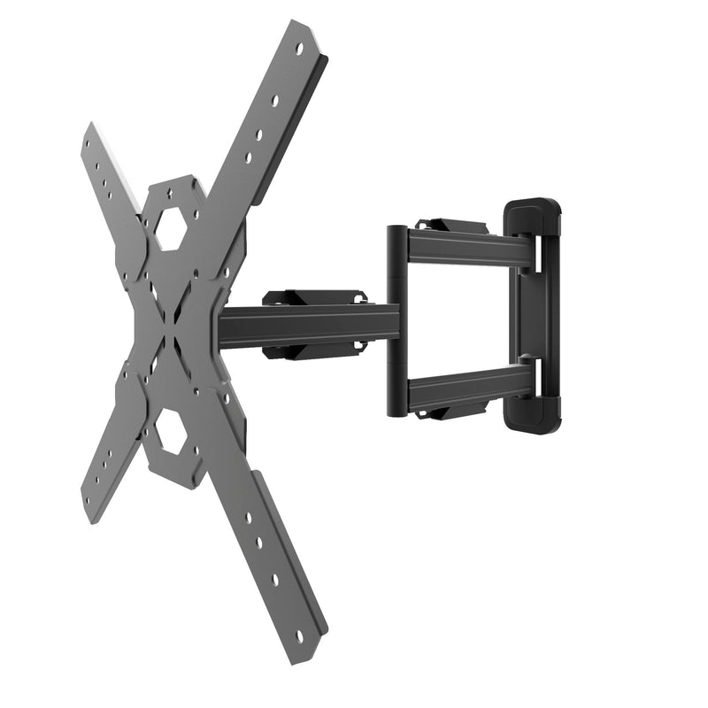 "Full Motion Single Stud TV Wall Mount with 22"" Extension for 26"" to 60"" TVs - PS300"