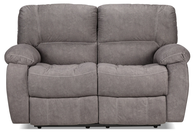 Superb Peyton Reclining Loveseat Grey Ocoug Best Dining Table And Chair Ideas Images Ocougorg