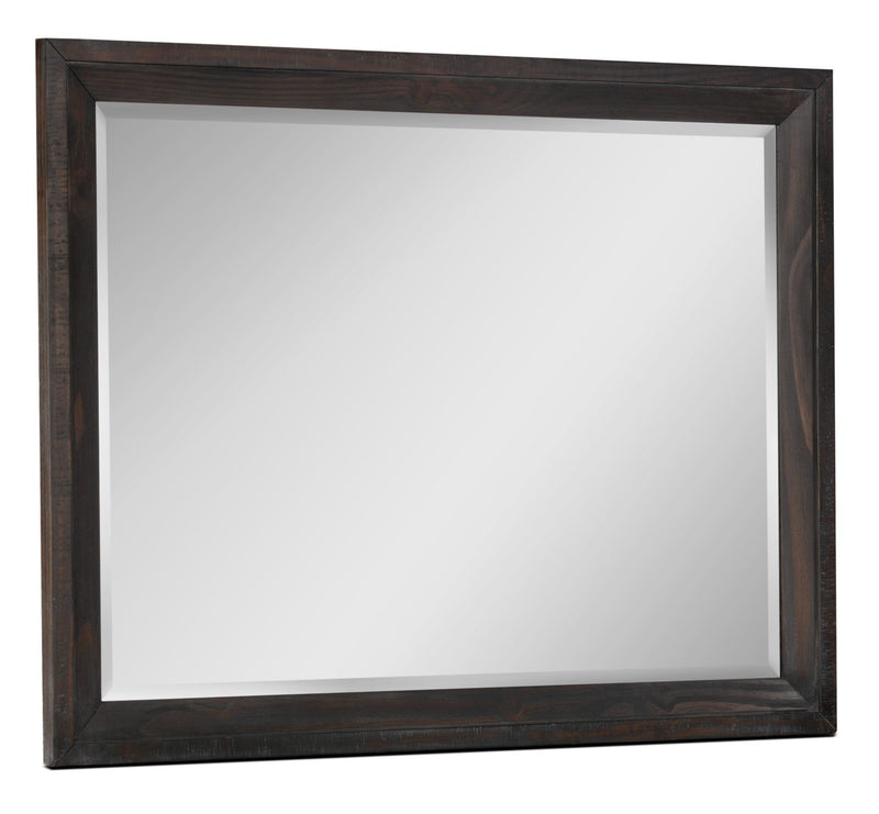 Camelot Mirror - Weathered Dark Brown