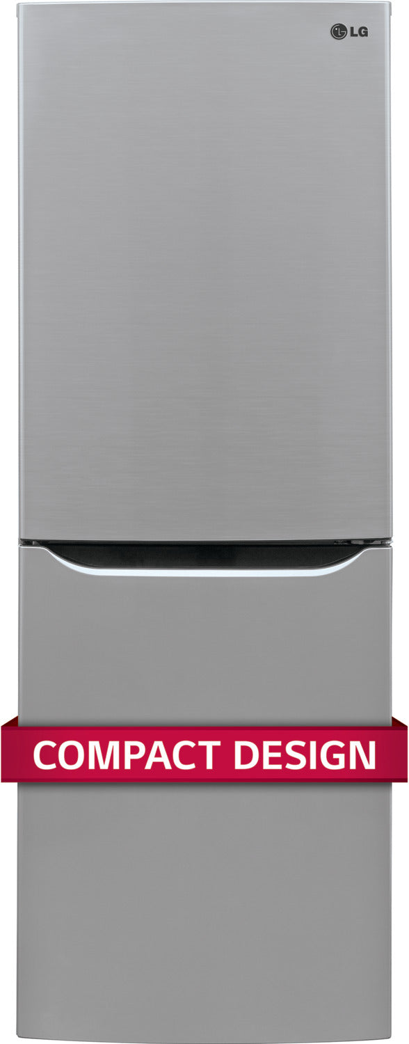 LG Platinum Silver Counter-Depth Bottom-Freezer Refrigerator (10.1 Cu. Ft.) - LBNC10551V