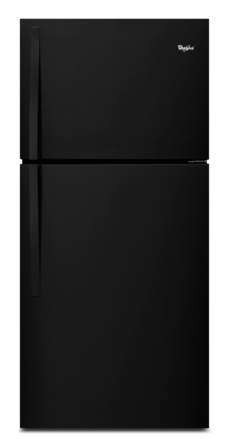 Whirlpool Black Top-Freezer Refrigerator (19.2 Cu. Ft.) - WRT519SZDB