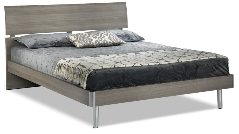 Queen Bed Frame.Bellmar 5 Piece Queen Bedroom Set Grey